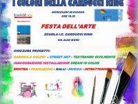 """""""I colori della Carducci King"""" la festa dell'arte a Casoria"""