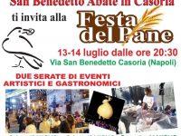 Festa del Pane: la tradizionale ricorrenza torna a Casoria
