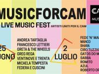Musicforcam a Casoria: artisti uniti per il CAM