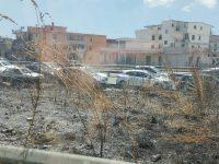 Incendio sulla Sp1 da Casoria, traffico paralizzato per ore