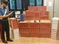 32enne arrestato dai carabinieri per contrabbando. sequestrati 188 chili di sigarette