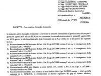 Casoria: convocato il 5 agosto il consiglio comunale