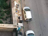 Viale Olimpico Casoria: rifiuti che impediscono il normale passaggio, richiesto l'intervento del sindaco