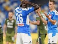 Napoli-Cagliari: 0-1, il danno oltre la beffa, espulso Koulibaly nel finale.