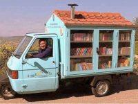 """Riceviamo e pubblichiamo. A Casalnuovo di Napoli arriva il maestro La Cava con il """"bibliomotocarro"""""""