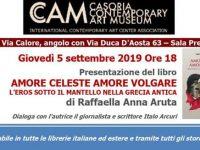 Amore Celeste Amore Volgare. Raffaella Anna Aruta presenta il suo libro al museo Cam di Casoria
