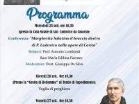 Casoria: programma in occasione del bicentenario della nascita di Madre Margherita Salatino (1819-2019)