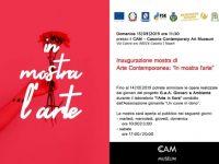 Casoria: da domani l'arte è in mostra al Cam
