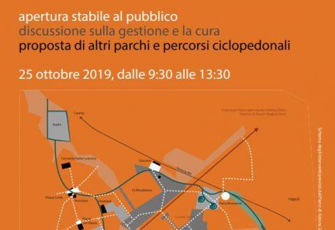 Il 25 Ottobre 2019 il Parco di Via Michelangelo verrà aperto al pubblico!
