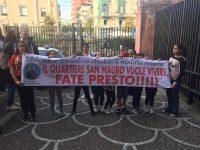 Casoria: le proteste dei cittadini per la voragine, dichiarato dissesto idrogeologico