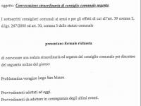 Voragine Largo San Mauro: convocazione urgente del Consiglio Comunale.