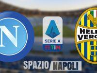 Napoli-Verona: 2-0. Gli azzurri ritrovano gol e vittoria
