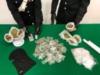 Prevenzione dei carabinieri di Casoria e Castellammare nella provincia: scoperti uomo pronto a sparare e squadra di spacciatori minorenni