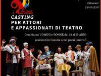 Casoria: casting per attori e appassionati di teatro