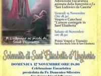 Casoria: Solennità di Sant' Elisabetta d'Ungheria