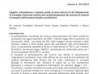 Casoria: interpellanza del Movimento 5 Stelle per il recupero dell'evasione fiscale e contributiva