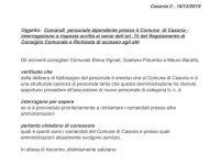 Carenza di personale al Comune di Casoria: i 5 Stelle presentano un'interrogazione.