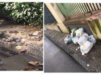 Casoria: Natale nella spazzatura