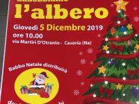 Il Comitato Quartiere Stella porta Babbo Natale a Casoria