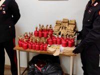 CASALNUOVO DI NAPOLI: 40 chili di botti pronti per la rivendita. 24enne Arrestato dai Carabinieri
