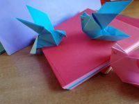 Casoria: Origami e caffè al caffè Sgambati