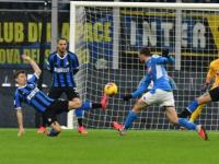 Coppa Italia, semifinale di andata: Il Napoli batte l'Inter a San Siro