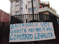 """Protesta dei disoccupati di Strade pulite Casoria: """"Basta promesse elettorali e parentopoli"""""""