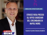 """""""Strisce rosa presso gli Uffici giudiziari del circondario di Napoli Nord. Casoria è il primo Comune ad aderire"""""""