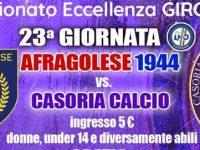 L'Afragolese vince il derby: Casoria battuto 4-1