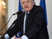 Coronavirus Conferenza stampa del Presidente De Luca. Campania: 13 casi -9 a Napoli- 2 a Caserta -1 a Vallo della Lucania- 1 in Provincia di Benevento Redazione.