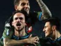 Brescia-Napoli:1-2, il Napoli vede l'Europa