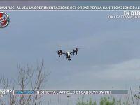Il Sud in prima linea, oggi la sperimentazione dell'utilizzo di droni per combattere il Covid – 19