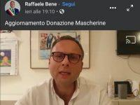 Mascherine gratuite a Casoria:Buone notizie in un video del Sindaco Raffaele Bene