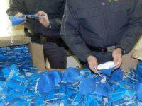 Casoria: la polizia di stato sequestra 875 mascherine non idonee all'uso sanitario.