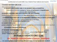 Marzo Ludoviciano 2020: il programma della manifestazione in onore di San Ludovico da Casoria