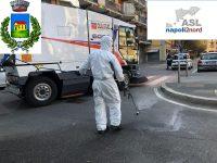 Casoria: Coronavirus, Asl Napoli 2 Nord al via la sanificazione delle strade di Casoria