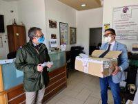 La Carlo Del Vecchio Group-Sasha dona mascherine al comune di Casoria, unendosi alla vasta rete di imprenditori che alimenta la rete solidale nel nostro comune.