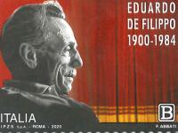 Emesso un nuovo francobollo per il 120° anniversario della nascita di Eduardo