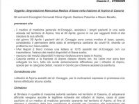 Casoria – Arpino: appello alla città per emergenza sanitaria