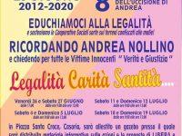 """Oggi e domenica ultimi due appuntamenti con """"Educhiamoci alla legalità"""" in piazza Santa Croce"""
