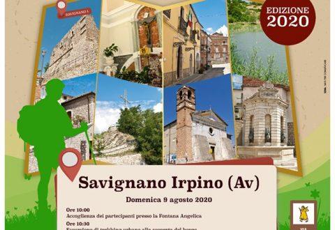 """Partono da Savignano Irpino """"I Cammini della Via Francigena del Sud"""""""