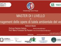 Giovani e lavoro: creare le nuove figure e professionalità green per il lavoro del futuro – Master Perugia