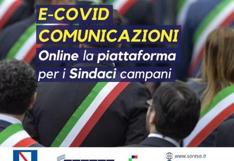 Campania: andamento epidemiologico attraverso la piattaforma e-Covid Comunicazioni e riapertura delle scuole dal 25 novembre