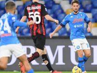 """Il Napoli perde la prima """"sfida scudetto"""". Il Milan espugna il San Paolo"""