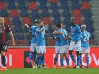Il Napoli espugna Bologna e torna alla vittoria